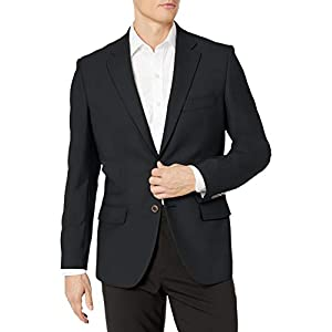 Best Epic Trends 317h5%2BQAFyL._SS300_ Amazon Essentials Men's Long-Sleeve Classic-fit Button-Front Stretch Blazer