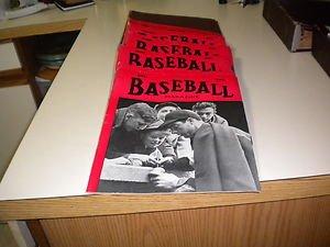 (1940 BASEBALL MAGAZINE COMPLETE 12 VOLUME RUN W/BINDER )