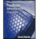 Graphing Calculator Manual Precalculus, Goodman, Hirsch, 0534371817