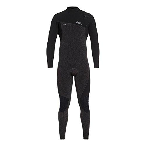 Quiksilver 4/3mm Highline Series Zipperless Men's Wetsuits - Black/Medium