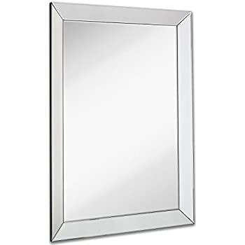 white frame bathroom mirror large flat framed wall mirror with 2 inch edge 21529