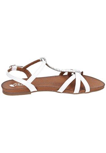 Piazza 910728 - Sandalias Mujer Weiß