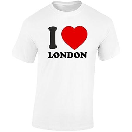 swagwear I Love London Mens T-Shirt 10 Colours (S-3XL) 317h8BtlQGL