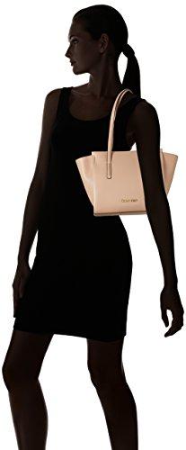 Calvin Klein Frame Medium Shopper, Borse Tote Donna Beige (Nude)