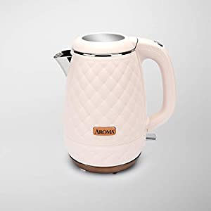 Aroma Professional AWK-3000P Surgical Grade 316 Stainless Steel Electric Water Kettle, 1.2L, Pink 11