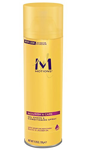 Motions At Home Oil Sheen and Conditioning Spray, 11.25 Ounce - Sheen Oil Motions Spray