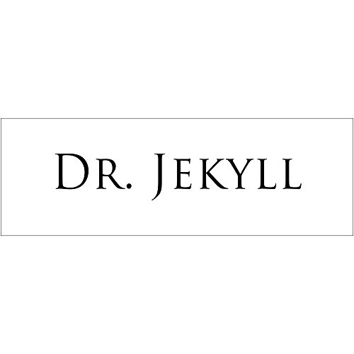 Dr. Jekall Halloween Costume Name Tag - Funny Halloween -