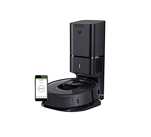 (iRobot Roomba i7+ (7550) Robot Vacuum with Automatic Dirt Disposal- Wi-Fi Connected, Smart Mapping, Works with Alexa,  Ideal for Pet Hair, Carpets, Hard Floors)