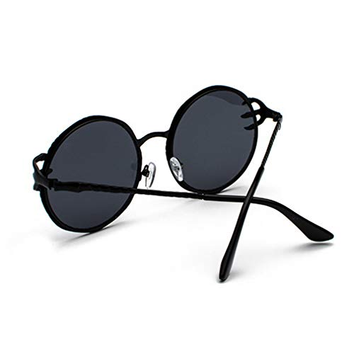 Sunglasses Grey Men Driving Shopping Round Eyeglasses Luxury Protection Metal Outdoor Women Lens Eyewear Holiday Frame black C1 Black Ocean Goggles Sunglasses Frame Travel Fashion UV Piece for Claw wtqOII