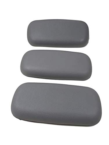(3X Spa Hot Tub Gray Neck Pillow Infinity Raindance Four Winds Premier Serenity)