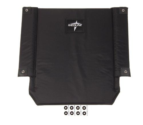 WCA806929K4 - Medline Wheelchair Back 20 Nylon Upholstery,Bl