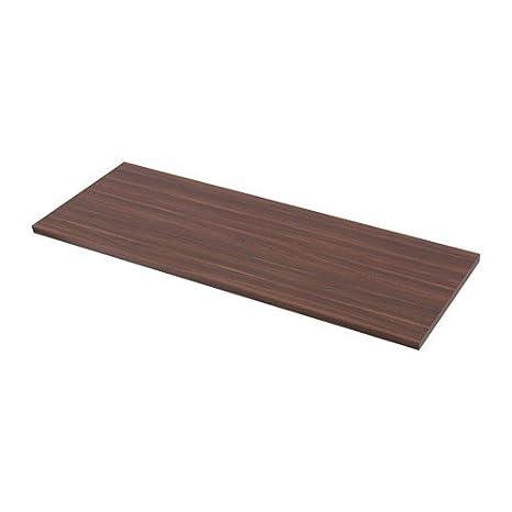 Ikea saeljan piano di lavoro Noce; (186 x 3,8 cm): Amazon.it: Casa e ...