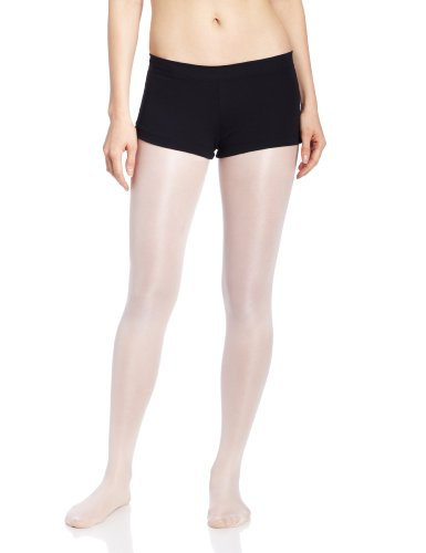 Capezio Women's Low Rise Boy Cut Short,Black,Medium (Low Rise Boy Brief)