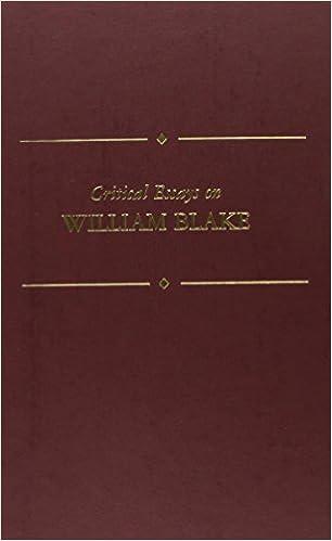 critical essay on william blake