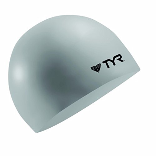TYR Wrinkle Free Silicone Cap, Silver