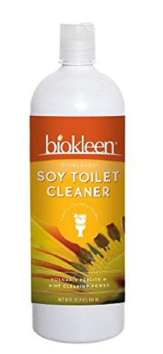 biokleen Soy Toilet Scrub for Tough Toilet Stains 32 fl oz (946 (Soy Toilet Scrub)