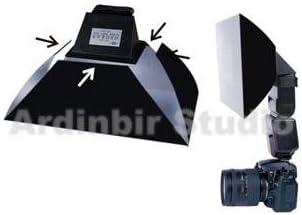 Di466 Speedlight Flash; Large Size 50 Ardinbir Flash Softbox Diffuser for Sony Hvl-f20am 36 40 F56am F42am F58am F32x F1000 F36am; Olympus Fl-50r Di866 36r; Nissin Di622