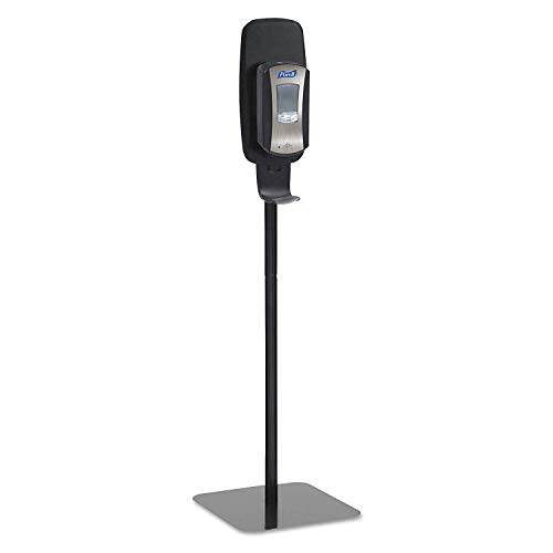 PURELL 2425DS LTX or TFX Touch-Free Dispenser Floor Stand, Black, 23 3/4 x 16 3/5 x 5 29/100 (Pack of 2) by Purell (Image #1)