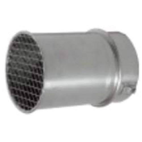 Noritz VT5-S 3.5-5.1 Inch Sealed Combustion Short Vent Termination, Stainless Steel (Sealed Combustion Short Vent)