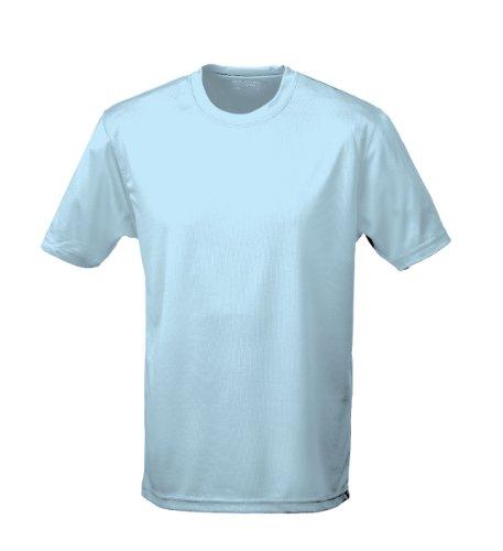 Just Cool - Performance T-Shirt, atmungsaktiv L,Himmelblau blue