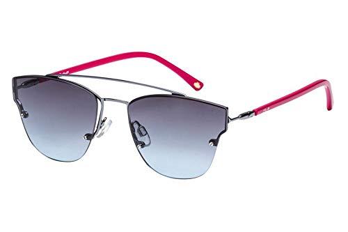 d658398bfad4f Óculos de Sol Lilica Ripilica Slr116 C01 50 Prata rosa  Amazon.com ...