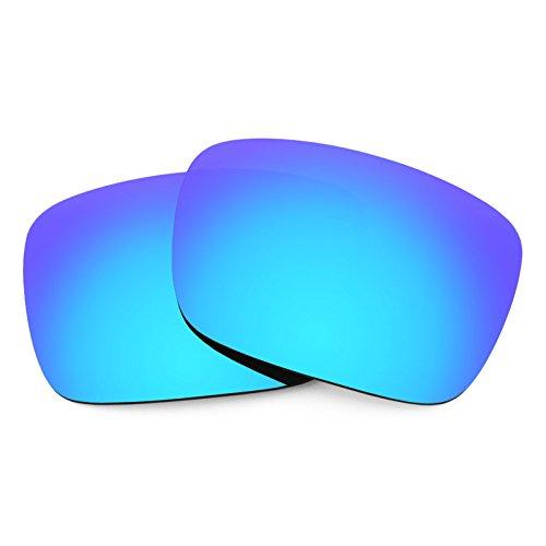Verres de rechange pour Von Zipper Elmore — Plusieurs options Bleu Glacier MirrorShield® - Polarisés