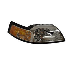 Ford Mustang V6/GT Passenger Side Chrome Headlight New