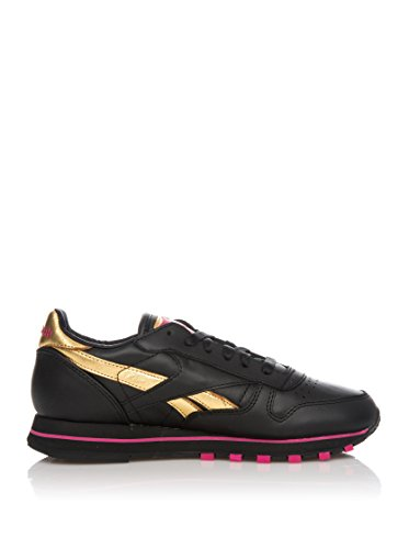 Reebok Zapatillas Deportivas Cl Lea Guilded Update W Negro / Oro EU 37 (US 6.5)