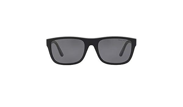 Ralph Lauren POLO 0PH4145 Gafas de sol, Matte Black/Rubber Grey ...