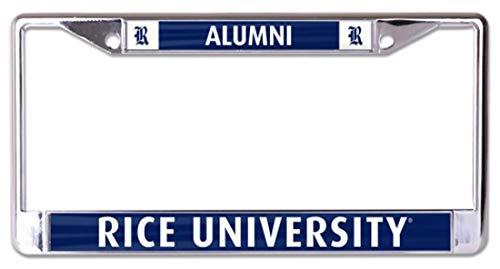 WinCraft Rice University Alumni L3321488 License Plate Frame ()