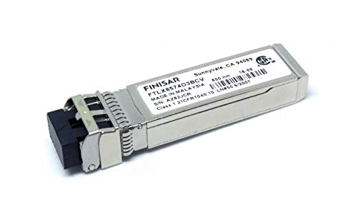Finisar FTLX8574D3BCV Fiber Optic Transmitters, Receivers, Transceivers 10G 850-NM VCSEL 1G/10G -