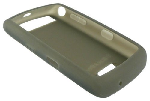 Genuine Blackberry Phone Skin (Genuine BlackBerry Storm 9500 9530 Silicone Skin Case - Smoke Grey)