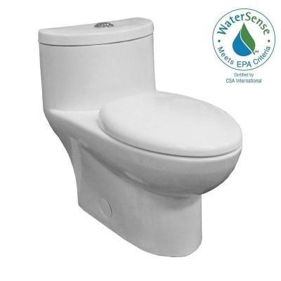 American Standard Tofino one piece dual flush toilet set