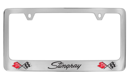 Chevrolet Corvette C3 Chrome Plated Metal License Plate for sale  Delivered anywhere in USA