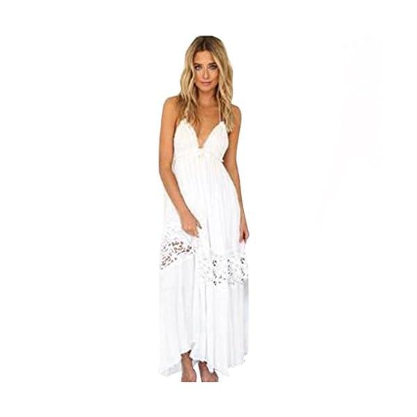db0845fe00 Rambling Women s Sexy Sling Bohemian Dress