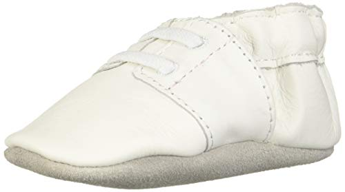 Robeez Special Occasion Soft Sole Slip-On (Infant),White,0-6 Months M US Infant -