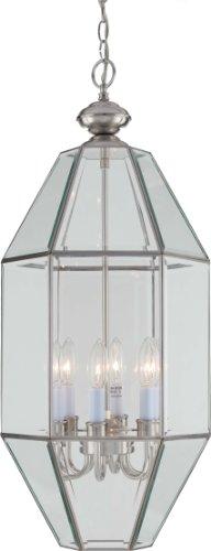 Volume Lighting 6-Light Brushed Nickel Chandelier