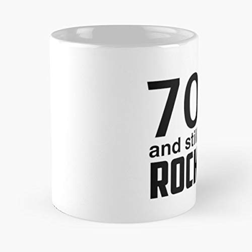 70 Years Old 70th Birthday - Handmade Funny 11oz Mug Best Holidays Gifts For Men Women Friends.