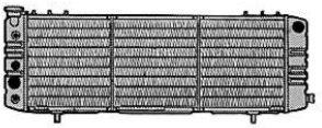 CSF 2670 Radiator by CSF