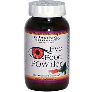 Eclectic Institute, Eye Food POW-der, 4.9 oz (138 g)