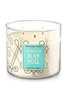 Bath and Body Works Vanilla Bean Noel 2017 Candle (Noel Bean Vanilla)