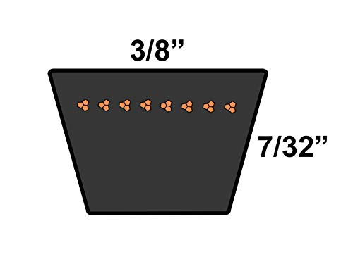 GZD Supplies for Sears or Roper or AYP 540300 Replacement Belt