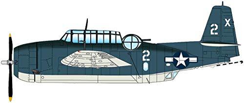 Grumman TBM-1C Avenger Barbara III White 2 VT-51, USS San Jacinto, 1944 1/72 Scale Die Cast Model HA1221 Hobby Master