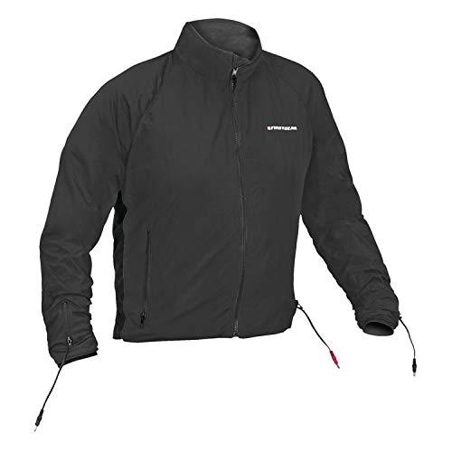 Safe Liner Jacket Heated - Firstgear Men's Heated 90 Watt Jacket Liner Black Large (More Size Options)