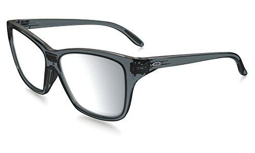Oakley Hold On Sunglasses Crystal Black / Chrome Iridium & Cleaning Kit - Black Oakley Crystal