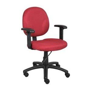 Dakota Designs 6GNN1 Task Chair, Ergonomic, Burgundy