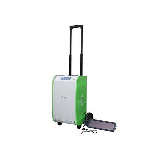 Nature PowerPak 1800-Watt Portable Solar Generator Starter Kit, for Off-Grid, Tailgating, RV, Cabin, Job site, Emergency Power