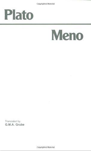 Meno (Hackett Classics)