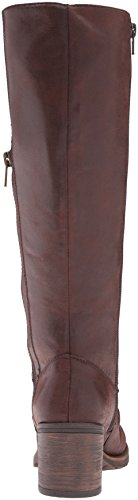 Brown Boot Bt Women's Riding Dark Dallia Baretraps vwaFqRBq