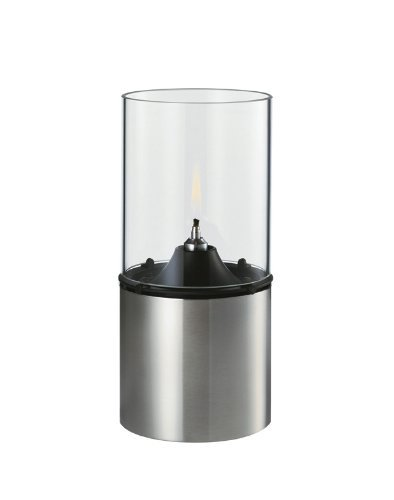 Stelton 1005 Classic Oil Lamp Stainless and Clear Glass by Stelton (Stelton Oil Lamp)